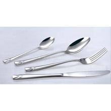 Espejo de acero inoxidable Polaco de vajilla cubiertos cuchillería Set (SE020)