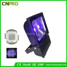 100watt Ultra Violet IP65 UV LED Flood Light with Us Plug for America