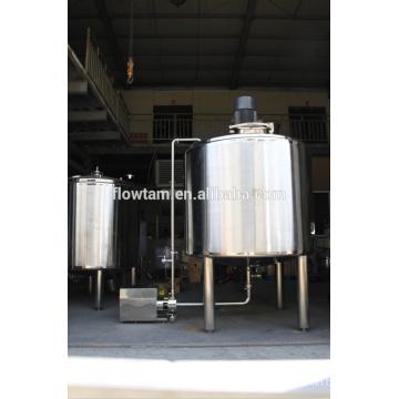 Санитарный резервуар для эмульгирования с высокой скоростью сдвига