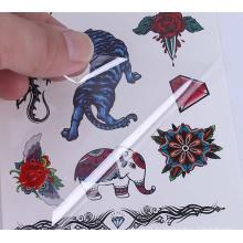Детские наклейки татуировки водонепроницаемый дешевые нетоксичные оптом дешевые наклейки татуировки самоклеющиеся наклейки татуировки тела