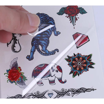 Pegatinas para niños Tatuajes a prueba de agua barato, no tóxico, a granel Barato, pegatinas para tatuajes, autoadhesivo, etiqueta engomada del tatuaje del cuerpo