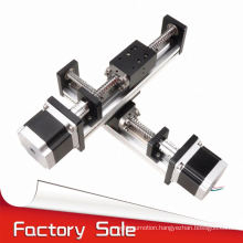 FUYU brand linear guide rail motorized xy stage for industrial robot arm