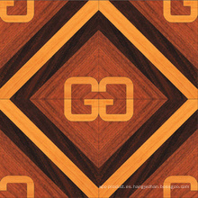 Guoma Classic Delicate Engineered 3 capas Arte Parquetwood Flooring