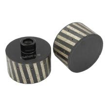 Diamond Grinding Tool 11x42L Resin-filled Diamond Drum Wheel for Granite
