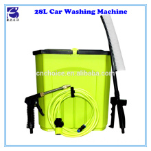 28L tank competitive portable battery powered hand car wash/care equipment