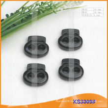 Metal cord stopper or toggle for garments,handbags and shoes KS3009#
