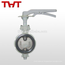 Keystone against condensation wafer butterfly valve