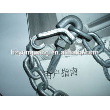 hardware fitting steel shackle iron chain anchor bolt types of hinges