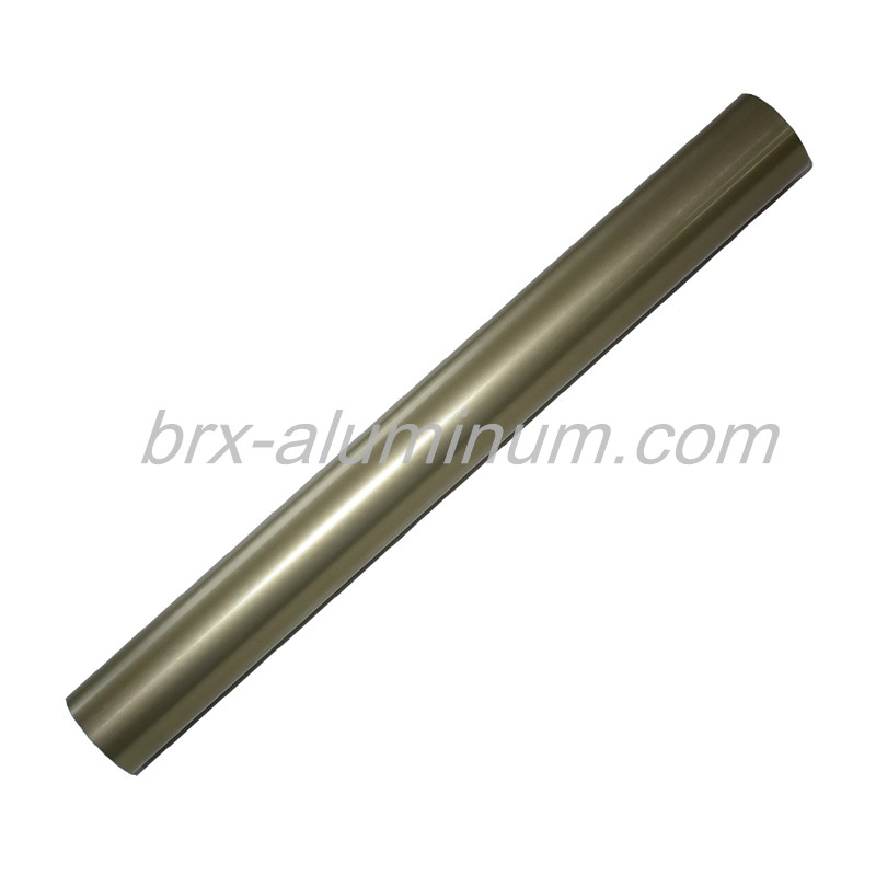 Aluminum tube with high anodic oxidation