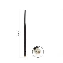 5.8G 5dB omni schwarze Gummiantenne, die SMA-Steckerrouterantenne faltet