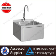 China Exporter Edelstahl 201/304 Küche Tischplatte Waschbecken