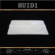 Hot sales fine bone china food serving tray from chaozhou for hotel
