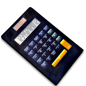 Dual Power 12 Digits Electronic Folding Calculator