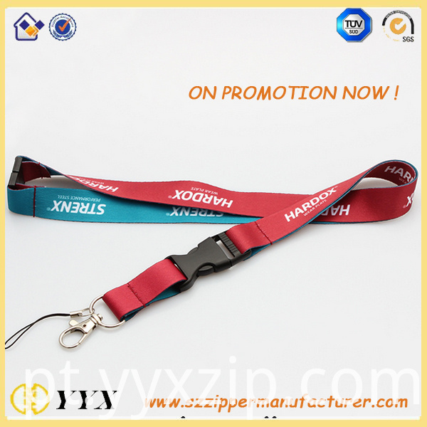 silk-screen lanyard