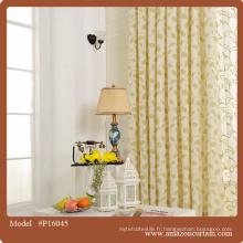 Rideau de tissu, rideau imprimé en coton épais, nouveaux styles de rideaux