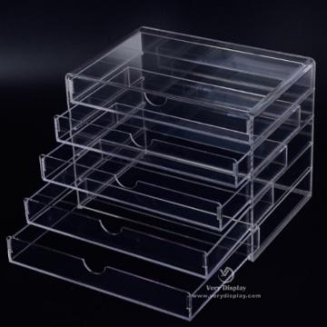 Acryl Aufbewahrungskoffer Organizer Schubladen