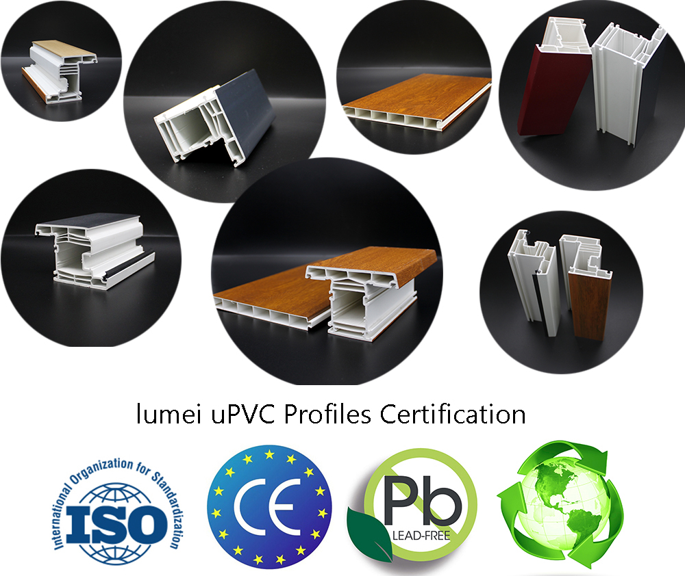 certification of upvc profile