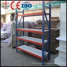 Système de supports de palettes d'entrepôt robustes avec Ce et ISO