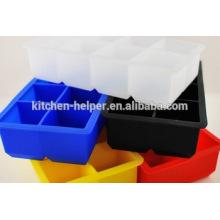 Горячий продавая верхний лезвие кубика льда силикона формы качества конфеты