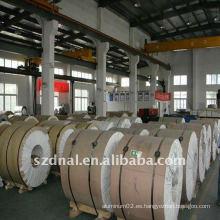 Alta calidad de bobina de aluminio precio de costo 6061T6