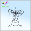 Metal flower pot racks artificial flower hanging display racks