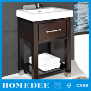 Japanese Style Round Bathroom Cabinet New Design With Acrylic Top