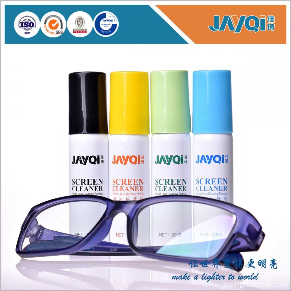 Aluminum Bottle Lens Cleaner Spray