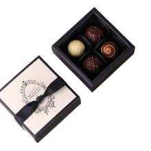 small thin cardboard box chocolate box for gift