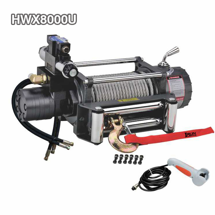 Two Stage Planetary 4×4 Hydraulic Winch 8000lbs