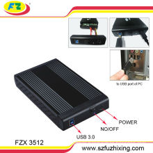 """3.5"""" SATA Aluminum USB 3.0 HDD Enclosure"""