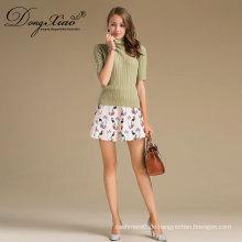 100% Mongolische Kaschmir Frauen Langarm Pullover Pullover Design