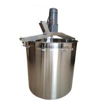 Convenient commercial hot pot seasoning stir frying machine automatic stir frying stew sauce pepper stir frying  mixing bbucket