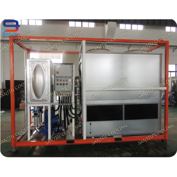 Geschlossener Wasserkühlturm / industrieller Kühlturm