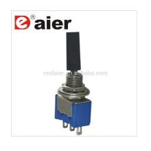 Daier MTS-102-E1 3 broches avec capuchon de commutateur à bascule en plastique à poignée plate