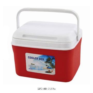 4.5L Portable Plastic Cooler, Ice Cooler Box, Plastic Cooler Box