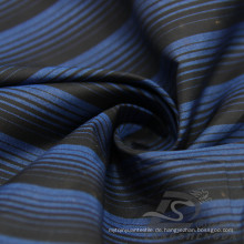 Wasser & Wind-resistent Mode Jacke Daunenjacke gewebt gestreift Jacquard 100% Polyester Kationische Garn Filament Stoff (X025)