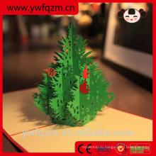 Китай оптовая 3D Рождественская открытка
