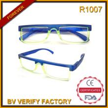 Gafas de lectura baratos R1007 2016 innovación marco medio gafas pequeñas