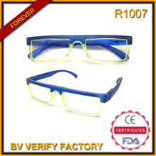 R1007 2016 Innovation Cheap Reading Glasses Frame Half Small Reading Glasses