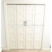Shaker moderno MDF portas do armário de linho Amerian de dobramento
