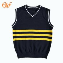 Primary School Kids Sleeveless School Uniforms Sweater