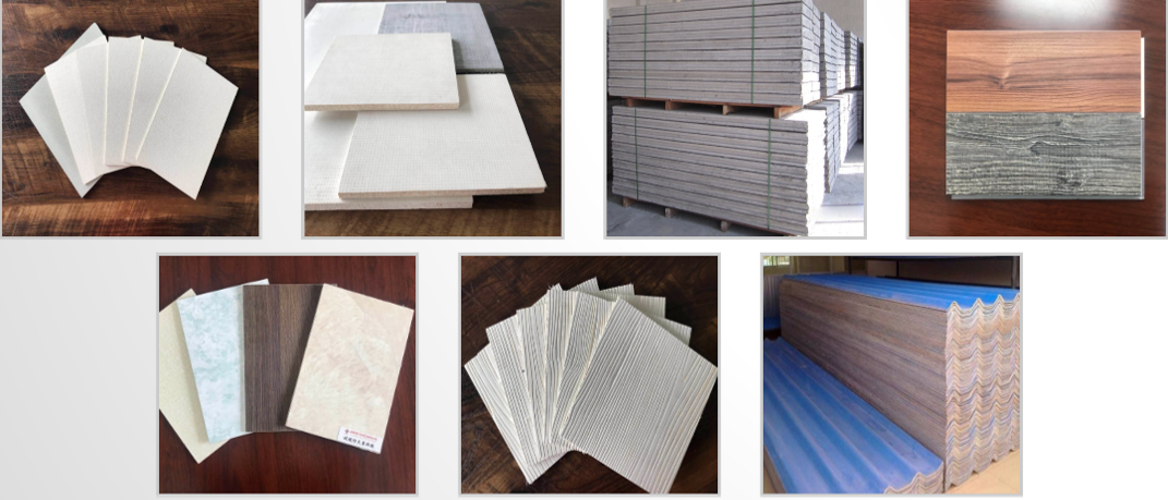 magnesium oxide panels product display