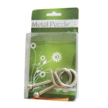 Pequenos 3D IQ Metal Wire Puzzle Games