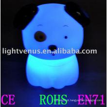Luz da noite da criança do flash do RGB