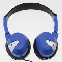 Écouteur filaire avec coussin d'oreille doux pour l'utilisation de l'aviation