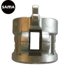 Carcaça de aço perdida precisão do investimento da cera para a tubulação