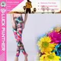 Pantalones de la aptitud de la yoga de las mujeres de la moda que funcionan con las polainas del deporte