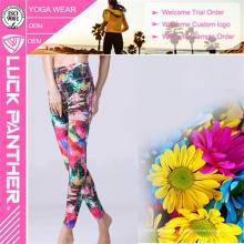 Мода Женщин Йога Фитнес Брюки Бег Спорт Леггинсы