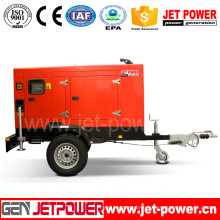 High Quality 150kVA Trailer-Mounted Diesel Generator Low Price