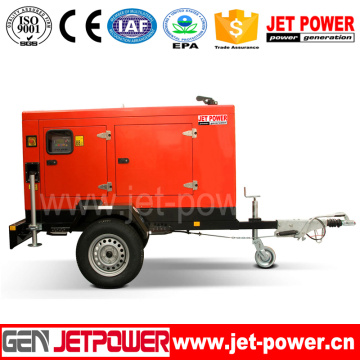 25kVA Electric Mobile Generator 20kw Portable Diesel Generator